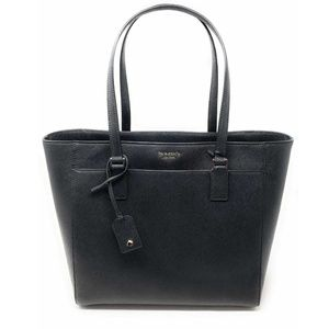 Kate Spade Cameron Black Laptop Tote Leather Bag